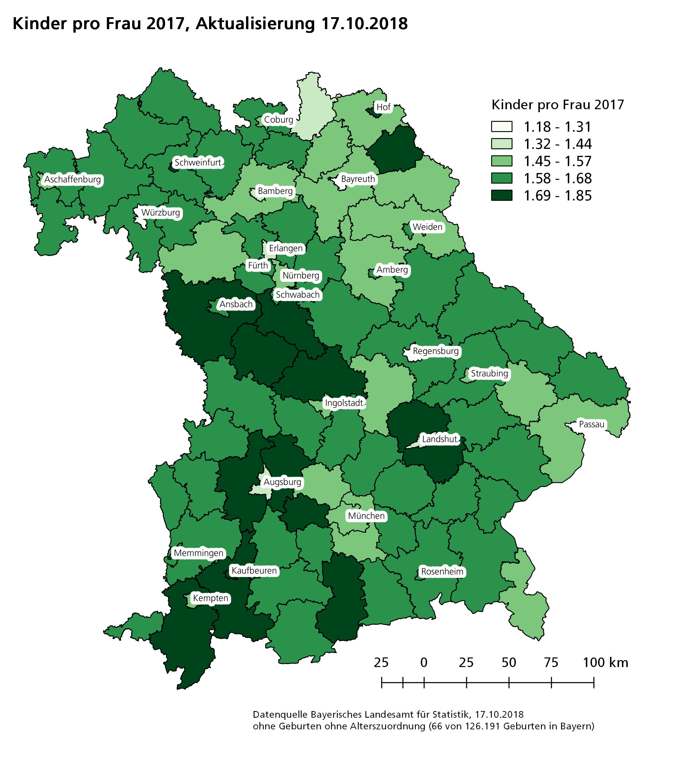 Geburtenrate 2017