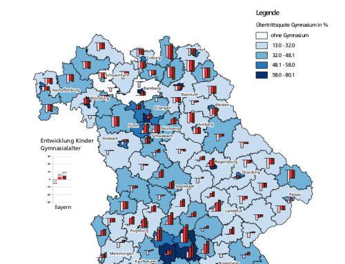 Schulwahlverhalten 2004/05 bis 2016/17 und Schülerzahlen bis 2035 – Gymnasien