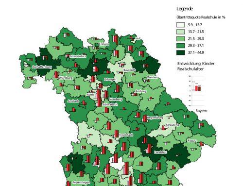 Schulwahlverhalten 2004/05 bis 2016/17 und Schülerzahlen bis 2035 – Realschulen