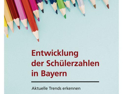Entwicklung der Schülerzahlen in Bayern